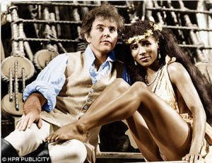 David Essex in Mutiny the stage show.